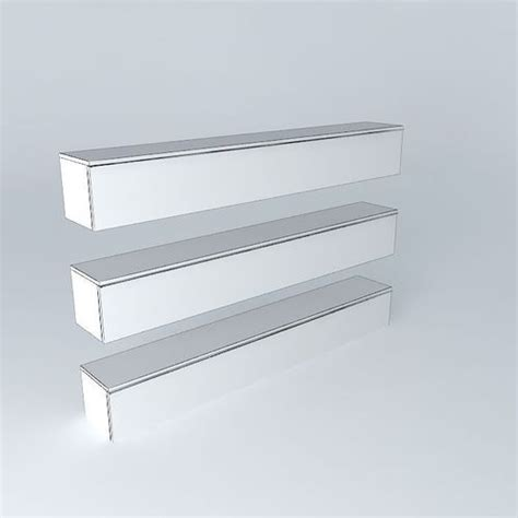 besta wall shelf besta burs wall shelf 3d model max obj 3ds fbx stl skp