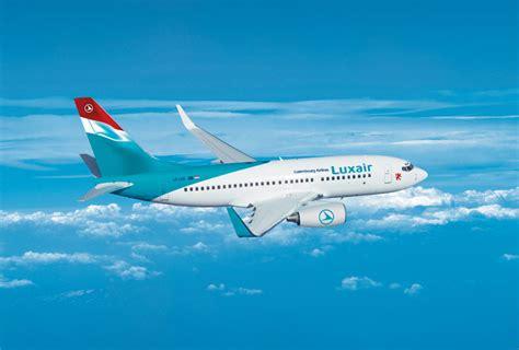 Les avions de Luxair : Boeing 737 800