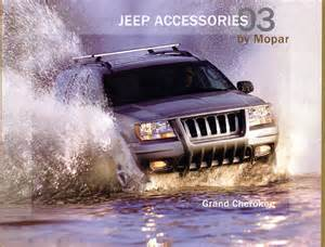 2003 Jeep Accessories Jeep Grand Wj Brochures And Manuals Part 2