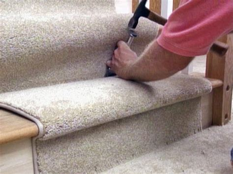 how to install a carpet runner on stairs easy ideas for organizing and cleaning your home hgtv