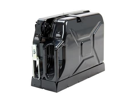 Jerry Can Holder Roof Rack by Expedition Aluminium Roof Rack Single Jerry Can Holder