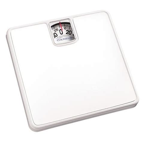 easy read bathroom scales counselor c57d 01 analog bathroom scale easy to read