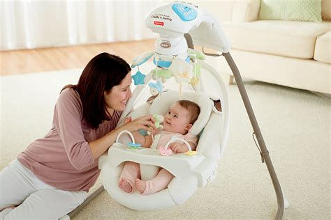 letting baby sleep in swing fisher price cradle n swing my little lamb baby infant