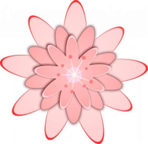 Fingernägel Design Vorlagen Pink Rosa Blume Der Kostenlosen Vektor