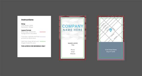 New Adobe Illustrator Cc Print Design Templates Primoprint Blog Adobe Illustrator Card Template