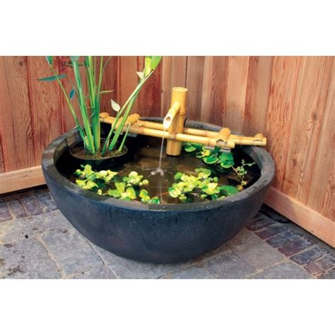 aquascape fountain aquascape adjustable pouring bamboo fountain pondusa com
