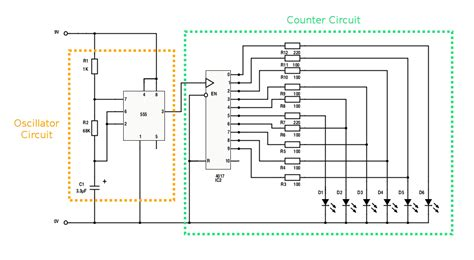 circuit builder for build the rider light bar circuit with leds