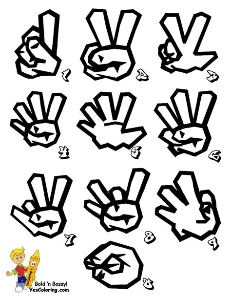 printable graffiti letters printable sign language alphabet in graffiti free cool