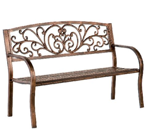 plow and hearth bench plow hearth blooming garden cast aluminum bench