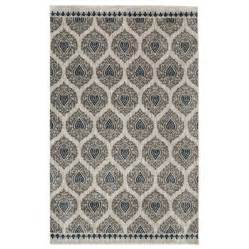mohawk home rugs shop mohawk home bethania blue rectangular indoor tufted