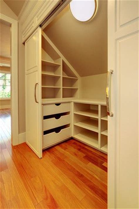 closet ideas for attic bedrooms attic bedroom closet design built ins i covet pinterest