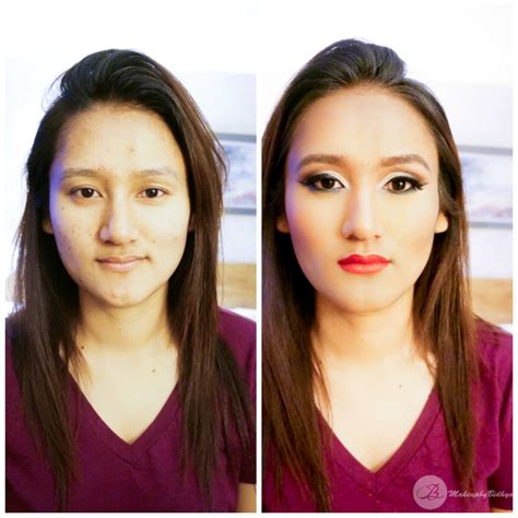 15 best images about before after makeup makeovers on makeover before n after 171 makeup by bidhya