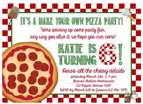 just like home design your own pizza print at home make your own pizza party