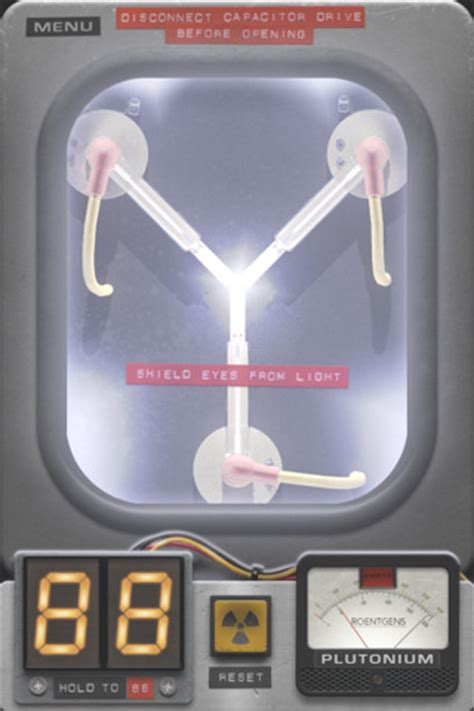 electric flux through capacitor back to the future flux capacitor iphone app helps you travel back in time