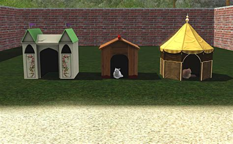 dogs for small houses mod the sims 3 new pet houses for cats or dogs large and