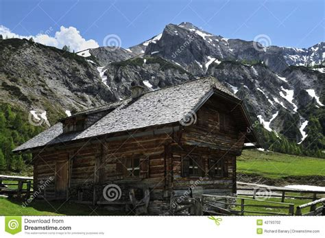 Alpine Cottages by Alpine Cottage Stock Photo Image 42793702