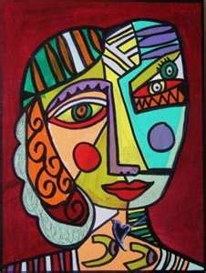 pablo picasso cubist faces 25 best ideas about picasso portraits on