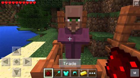 cara membuat anak villager di minecraft trade with village menjual atau membeli barang