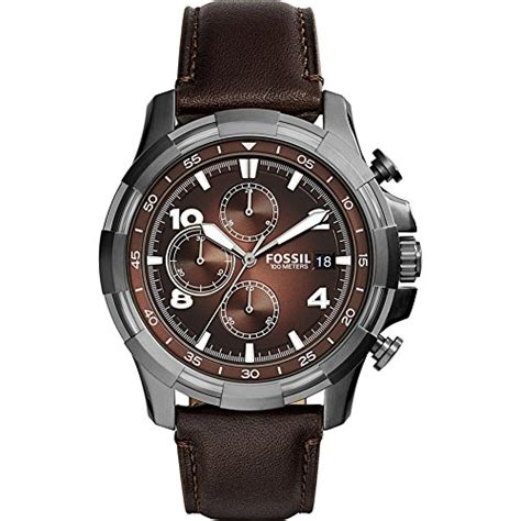 Promo Fossil Fs5000 Leather Vintage Chronograph best watches to buy