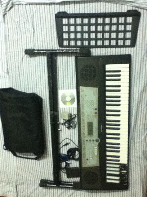 Keyboard Yamaha E203 Yamaha Psr E203 Stand Bag Adapter Midi2usb Cable Sustain