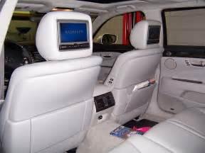 lexus rear seat dvd headrest av7500 entertainment