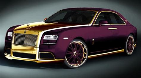 roll royce fenice rolls royce ghost purple by fenice con elementos