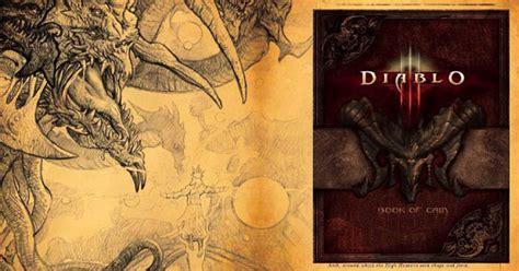 libro diablo iii book of diablo iii il libro di cain
