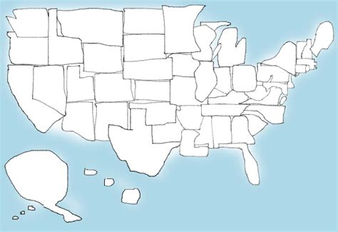 Drawing 50 States by United States Quiz See How Well You Can Draw All 50
