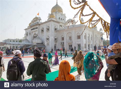 prayer for buying a new house sikh gurdwara bangla sahib sikh prayer house delhi new delhi stock photo royalty