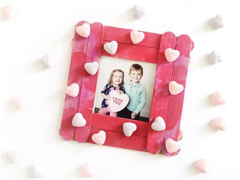 frame  easy valentines craft  kids