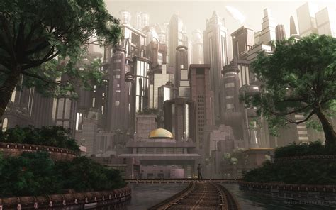 wallpaper abyss fantasy city city full hd wallpaper and background image 2560x1600