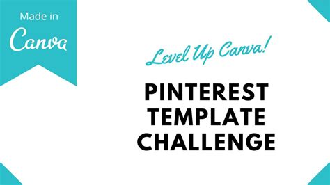 Canva Training How To Build Pinterest Templates With Canva Canva Template