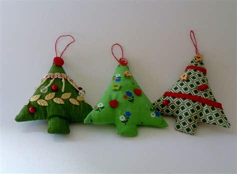 hand sewn christmas tree decorations mouthtoears com