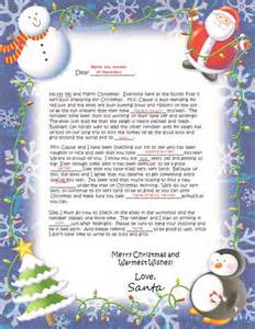 Welcome to north pole santa letters a place where your child s dreams