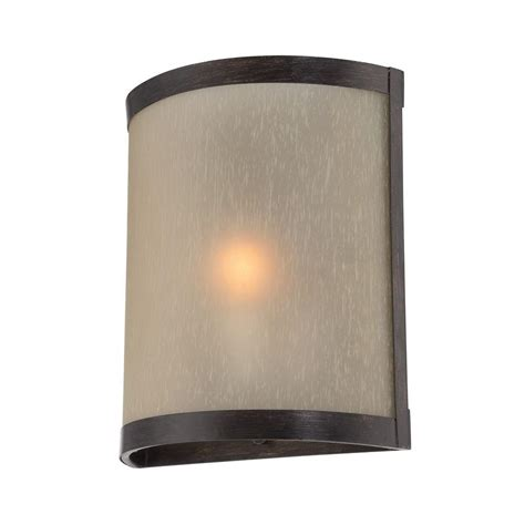 Illumine Designer Collection Wall Mount 1 Light Bronze Outdoor Lighting Ls