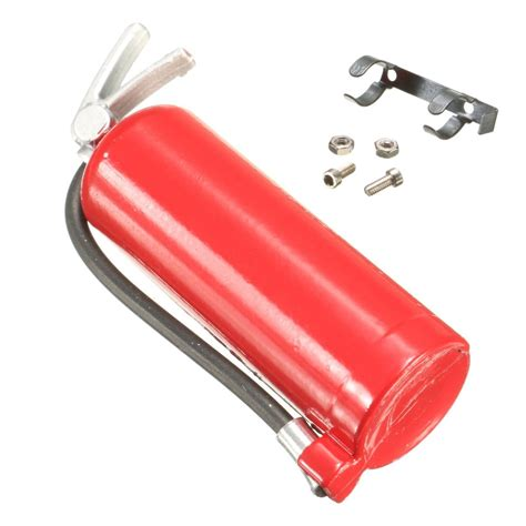 10 Accessories For by 1 10 Scale Extinguisher 48mm With Metal Mount Rc