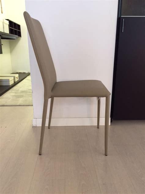 sedia bontempi sedia bontempi modello malik in pelle ecologica scontata