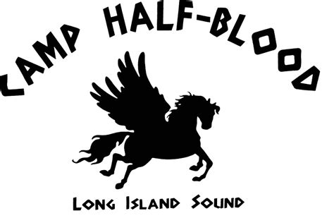 quot camp half blood full camp logo quot stickers by andyhex