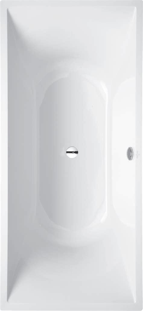 vasche da bagno doppie la vasca da bagno rettangolare ubq180lab2v