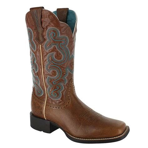 womans western boots ariat s quickdraw western boot s western