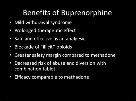 Buprenorphine Detox Protocol by Pharmacologic Treatment Of Opiate Dependence