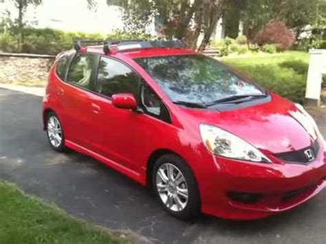 Honda Fit Rack by 2009 Honda Fit Yakima Roof Rack