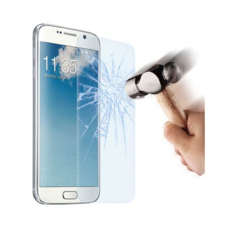 muvit anti shock tempered glass samsung galaxy s6 screen protector reviews mobilezap australia