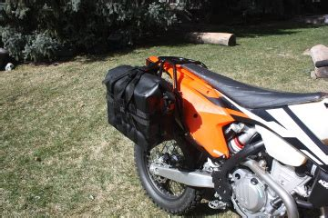 Ktm 500 Exc Luggage Rack by Luggage Rack System For 2017 Ktm 250 500 On Pannier