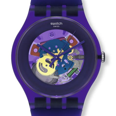 Swatch 1 Purple swatch watches new gent swatch purple lacquered