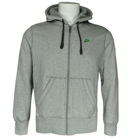 light grey nike hoodie nike hooded zip fleece sweatshirt top hoody light