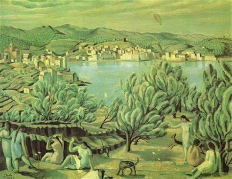 Landscape Near Figueras Cadaques Salvador Dali Wikiart Org