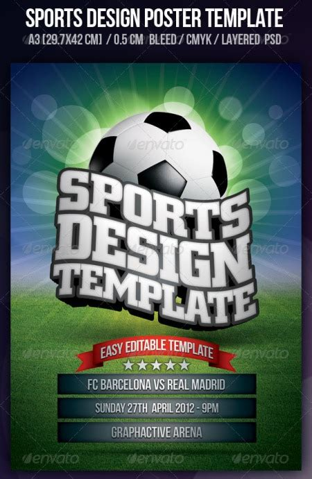 sports brochure templates free best photos of sport flyer template design sports flyer