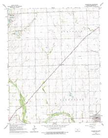 clearwater map clearwater topographic map ks usgs topo 37097e5