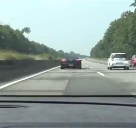 Lamborghini On Autobahn Lamborghini Gallardo Vs Huracan On Autobahn Race